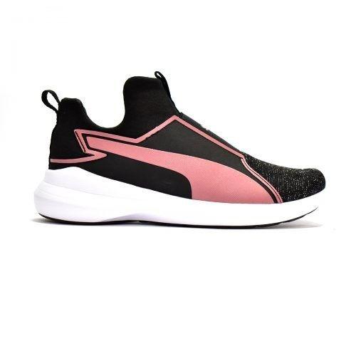 Γυναικεία Παπούτσια - Puma Rebel Mid Gleam Jr - 364619-01