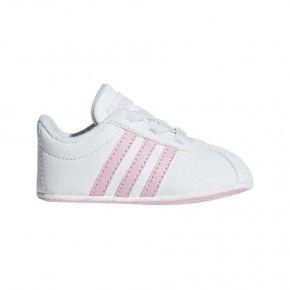 Βρεφικά Παπουτσάκια Αγκαλιάς - Adidas Vl Court 2.0 Crib I - F36603