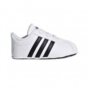 Βρεφικά Παπουτσάκια Αγκαλιάς - Adidas Vl Court Crib - F36605