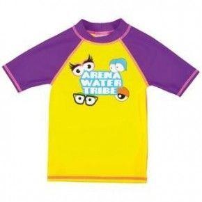 Βρεφικό Μπλουζάκι Ηλιοπροστασίας - Arena AWT Kids Girl UV S/S TEE - Arena - 000438359