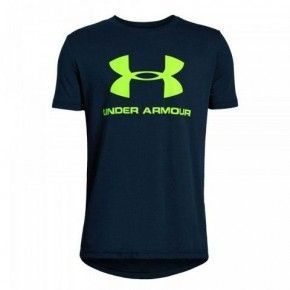 Παιδικό Μπλουζάκι - Under Armour Sportstyle Logo T-shirt - 1330893-408