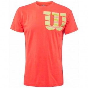 Ανδρική Μπλούζα - Wilson Shoulder Cotton Tee Men - WRA747703