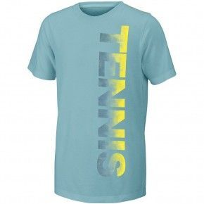 Παιδική Μπλούζα - Wilson Girls Tennis Tech Tee Aqua -  WRA753802