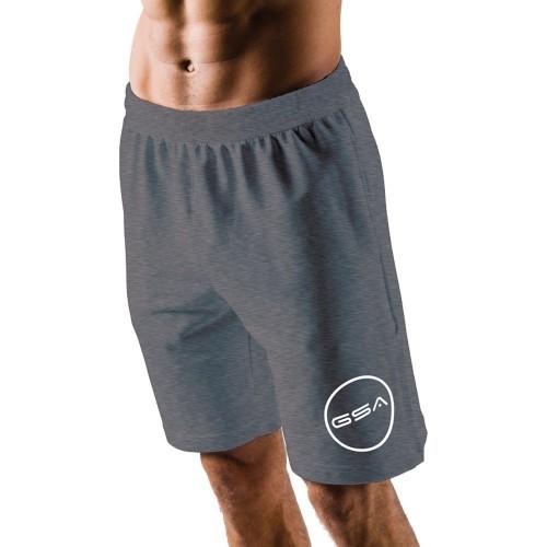 GSA Shorts 4/4 Men Superlogo Color Edition Ανθρακί - 1719060