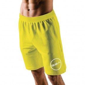 Ανδρική Βερμούδα - GSA Shorts 4/4 Men Superlogo Color Edition Κίτρινο - 1719060