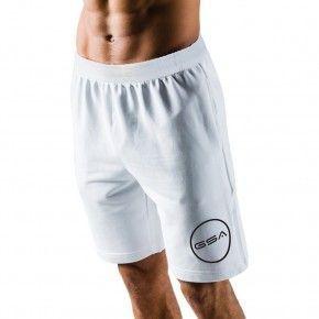 GSA Shorts 4/4 Men Superlogo Color Edition Λευκό - 1719060