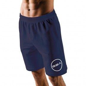 Ανδρική Βερμούδα - GSA Shorts 4/4 Men Superlogo Color Edition Μελανί - 1719060
