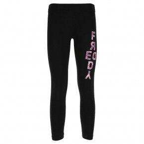 Παιδικό Κολάν - Freddy Girls' stretch cotton leggings with a maxi print - S9GCYLP1