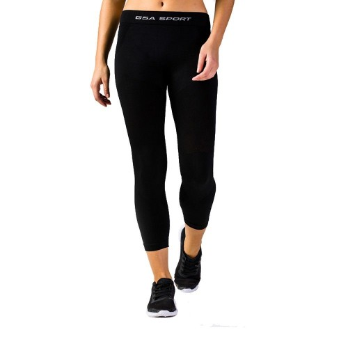 GSA Seamless Thermal Leggings - 17-27075 Μαύρο