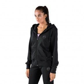 Γυναικεία Ζακέτα - GSA Tempo Zipper Hoodie Μαύρο - 1728030