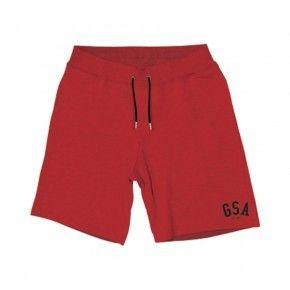 Παιδική Βερμούδα - GSA Terry Shorts JR Κόκκινο - 88-3707