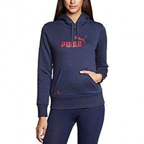 Γυναικεία Μπλούζα - Puma Ess Large Logo Hoodie Fleece - 823879-57
