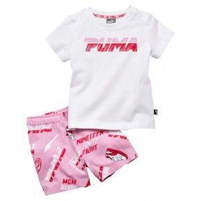 Βρεφικό Αθλητικό Σετ - Puma Minicats Girls - 854311-21