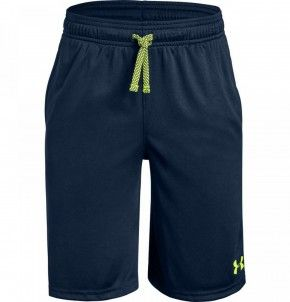 Under Armour Boys' Prototype Wordmark Shorts - 1333604-408