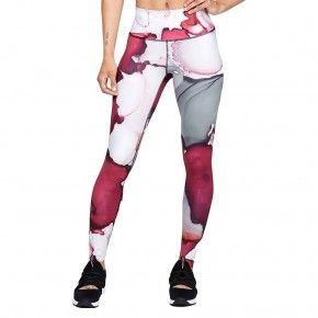 Γυναικείο Κολάν - Under Armour Breathelux Ankle Crop Ink Formation Print - 1328807-671