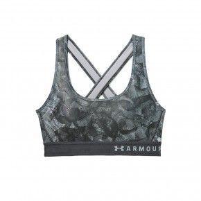 Γυναικείο Μπουστάκι - Under Armour Mid Crossback Print Bra - 1307213-017