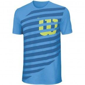 Παιδική Μπλούζα - Wilson Lined W Boys T-Shirt - WRA752301