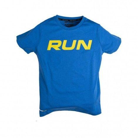 Παιδική Μπλούζα - GSA Boys Graphic Run Μπλε - 88-3705