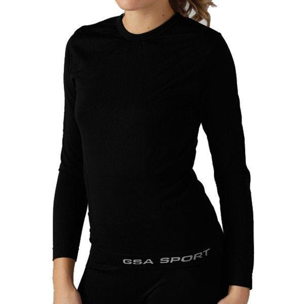 GSA Seamless Thermal Long Sleeve - 17-27076 Μαύρο