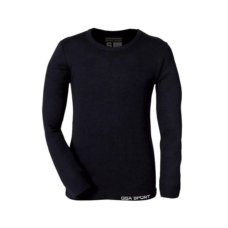 GSA Seamless Thermal Long Sleeve - 17-37001 Μαύρο