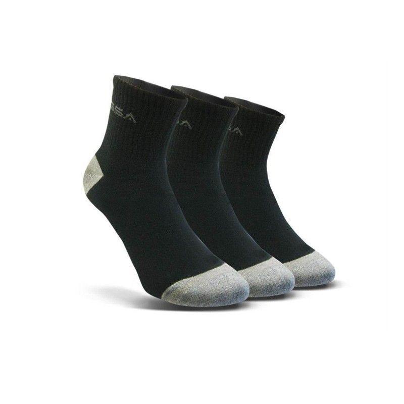 Ανδρικές Κάλτσες - GSA Stadion 500 Socks Πακέτο των 3 Μαύρο - 8116053-01