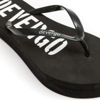 Γυναικείες Παντόφλες - Devergo Slippers Carin Μαύρο - DE-RF2506EV