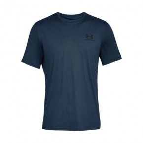 Ανδρική Μπλούζα - Under Armour Sportstyle Left Chest Logo - 1326799-408