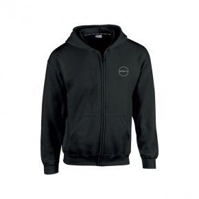 GSA Supercotton Zipper Hoodie - 17-38003 Black