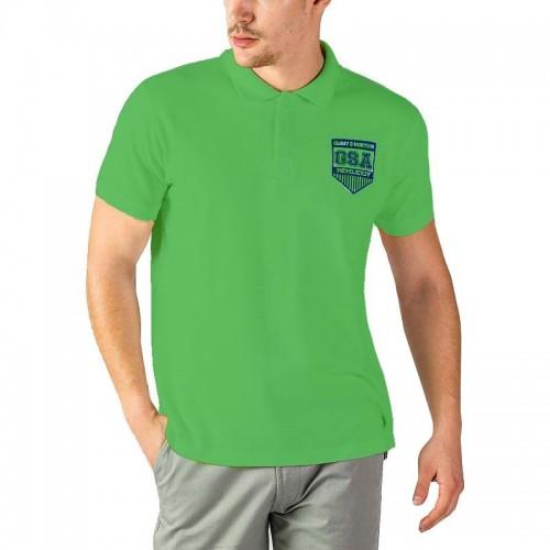 Ανδρική Μπλούζα - GSA Glory Polo Shirt Πράσινο - 3718012