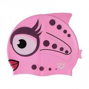 Παιδικό Σκουφάκι Κολύμβησης - Arena AWT Fish Cap Ροζ - 9191520