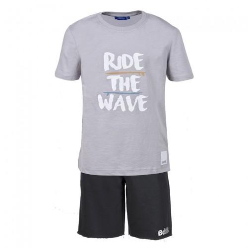 Παιδικό Σετ - BodyTalk Σετ t-shirt με βερμούδα για αγόρια - 1191-751699-00506