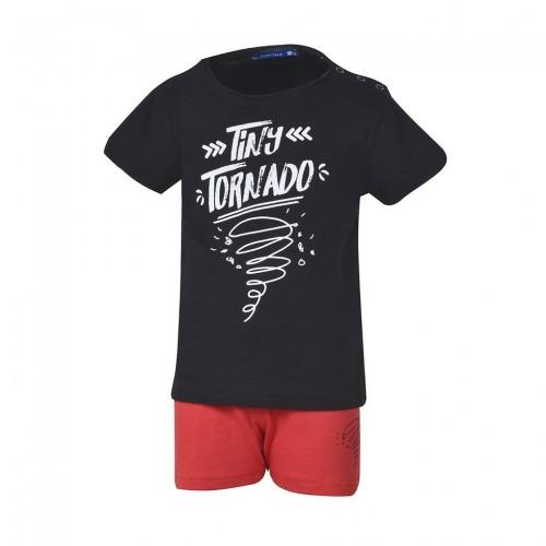 Βρεφικό Σετ - BodyTalk Σετ t-shirt με βερμούδα για αγόρια - 1191-734899-00100