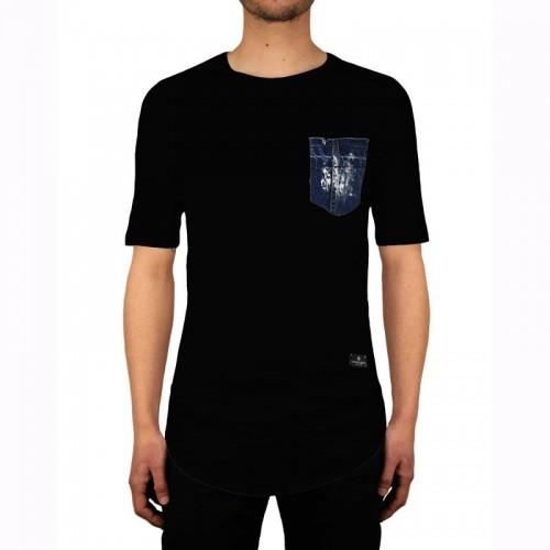 Ανδρική Μπλούζα - Cover Indian Μαύρο - Y101