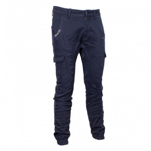 Ανδρικό Παντελόνι - Cover Loft Μπλε Σκούρο - T0182