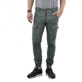 Ανδρικό Παντελόνι - Cover New Army Λαδί - T0190