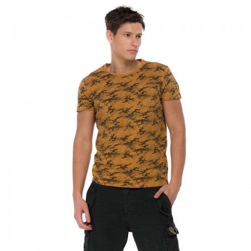 Ανδρική Μπλούζα - Devergo Jersey T-Shirt Καφέ - 1D914001SS3806