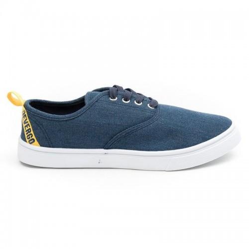 Ανδρικά Παπούτσια - Devergo Budley Men's Sneakers Μπλε - KD3037CA