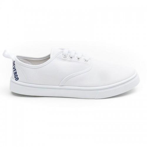 Ανδρικά Παπούτσια - Devergo Budley Men's Sneakers Λευκό - KD3037CA