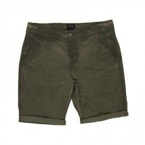 Ανδρική Βερμούδα - Devergo Medium Pants Λαδί - 1D711015MP1322