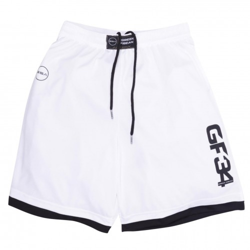 Ανδρική Βερμούδα - GSA Greek Freak Hydro + Basketball Λευκό - 3418004