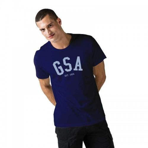 Ανδρική Μπλούζα - GSA Mens T-shirt Graphic Tee Glory Μελανί - 3719001