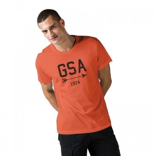 Ανδρική Μπλούζα - GSA Mens T-shirt Graphic Tee Glory Κοραλί - 3719001
