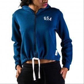 Γυναικεία Ζακέτα - GSA Glory Zipper Hoodie Μελανί - 37-28002