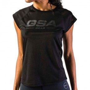 Γυναικεία Μπλούζα - GSA Graphic Tee Ultra Light Μαύρο - 1728023