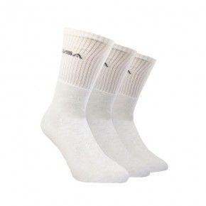 Ανδρικές Κάλτσες - GSA Supercotton Socks Πακέτο των 3 Λευκό - 8181003-02