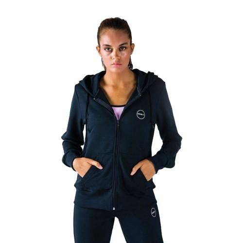 Γυναικεία Ζακέτα - GSA Tempo Zipper Hoodie Μελανί - 1728030