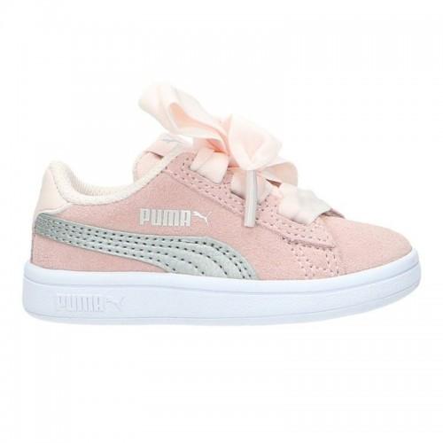 Βρεφικά Παπούτσια - Puma Smash V2 Ribbon Ac Infants Shoe - 366005-02