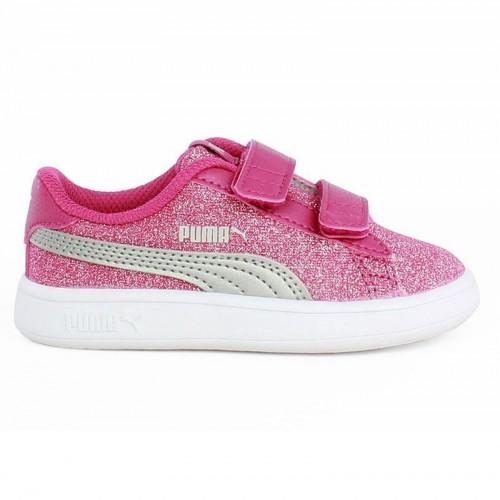 Βρεφικά Παπούτσια - Puma Smash V2 glitz Glam V Inf - 367380-03