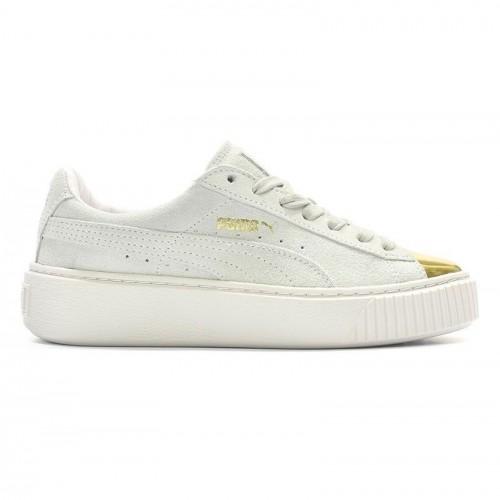 Γυναικεία Παπούτσια - Puma Suede Platform Gold - 362222-01