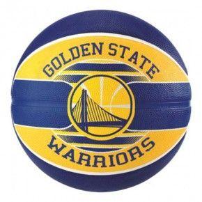 Μπάλα Μπάσκετ -  Spalding Nba Golden State Warriors Rubber - 83-515Z1